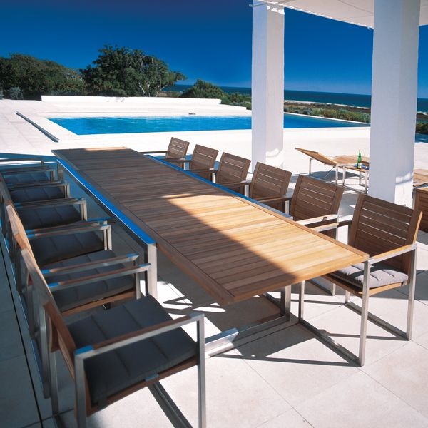 Elegant Contemporary Teak Outdoor Furniture Innovative Contemporary Outdoor Dining Furniture Outdoor Dining