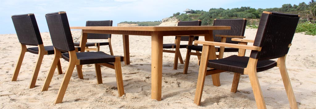 Elegant Contemporary Teak Outdoor Furniture Teak Outdoor Furniture Glorema