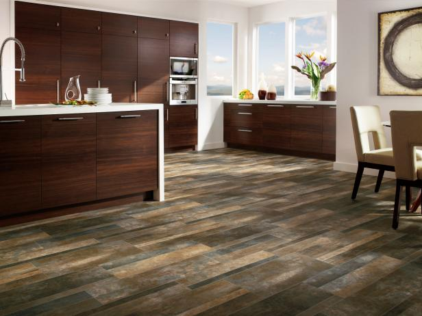 Elegant Contemporary Vinyl Flooring Not Your Fathers Vinyl Floor Hgtv