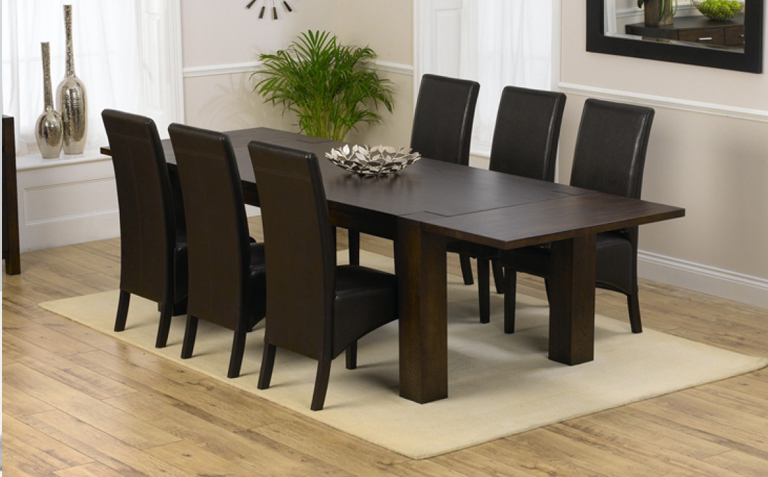 Elegant Dark Wood Dining Table Dark Wood Dining Table Dining Tables Inspiring Dark Wood Dining