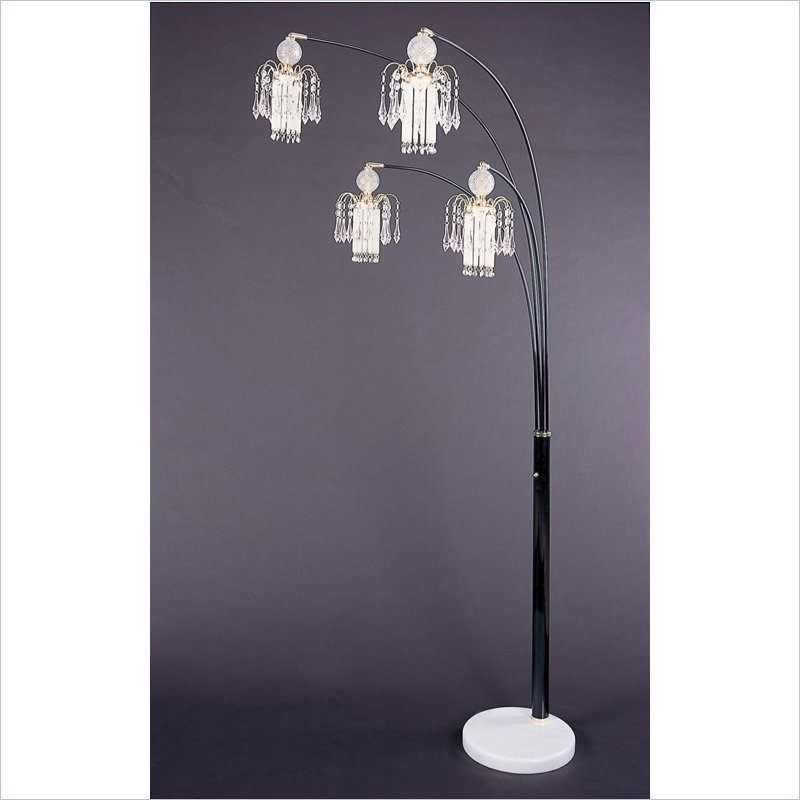 Elegant Floor Chandelier Lighting Brilliant Chandelier Floor Lamp Luxurious Chandelier Floor Lamp