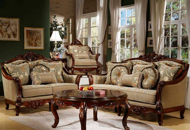 Elegant Formal Living Room Furniture Traditional Chairs