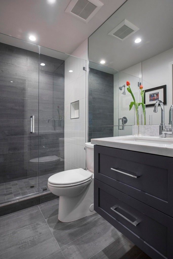 Elegant Grey Modern Bathroom Design Best 25 Small Grey Bathrooms Ideas On Pinterest Grey Bathrooms