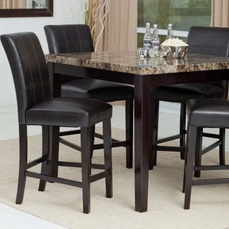 Elegant High Top Dining Room Chairs Incredible High Top Kitchen Table And Chairs With Dining Room Best
