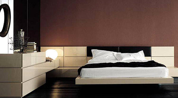 Elegant Italian Modern Bedroom Furniture Bedroom Designs Lacquer And Leather Modern Bed Aesthetic Drawing