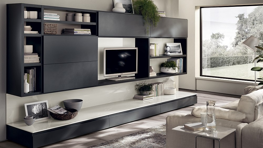 Elegant Living Room Wall Units Dynamic Living Room Compositions Versatile Wall Unit Systems Dma