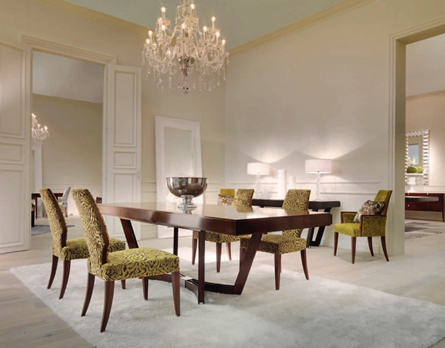Elegant Luxury Dining Tables Luxury Dining Room Furniture Designer Brands Luxdeco Stylish Igf Usa