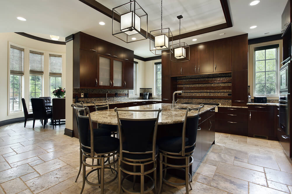 Elegant Luxury Kitchen Island Designs 32 Luxury Kitchen Island Ideas Designs Plans