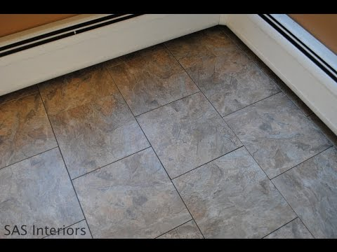 Elegant Luxury Vinyl Tile Home Depot Vinyl Tiles Vinyl Tiles In Home Depot Youtube