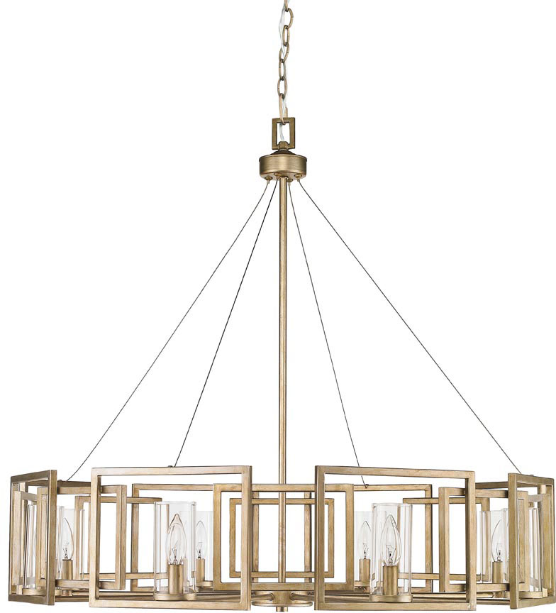 Elegant Modern Gold Chandelier Golden Lighting 6068 8 Wg Marco Modern White Gold Chandelier