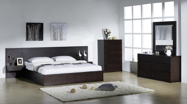 Elegant Modern Style Bedroom Sets Contemporary Bedroom Furniture Sets Intended For Contemporary