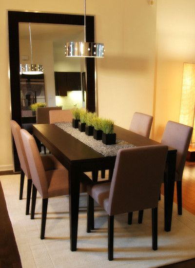 Elegant Wood Dining Table Decor 25 Elegant Dining Table Centerpiece Ideas Mirror Centerpiece