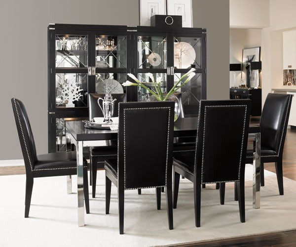 Fabulous Black Dining Room Table And Chairs Creative Of Black Dining Room Table Set Unique White And Black