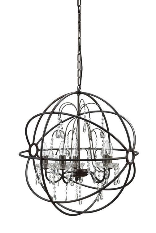 Fabulous Black Sphere Chandelier 19 Best Ldret Images On Pinterest Lights Beads And Bronze Finish