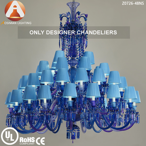 Fabulous Blue Crystal Chandelier Light Baccarat Style Blue Crystal Chandelier Buy Blue Crystal