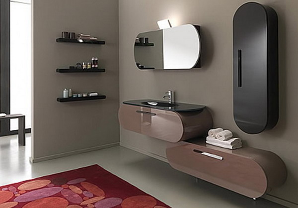 ... Fabulous Contemporary Bathroom Accessories Luxury Contemporary Bathroom Accessories Design Ideas Picture ...