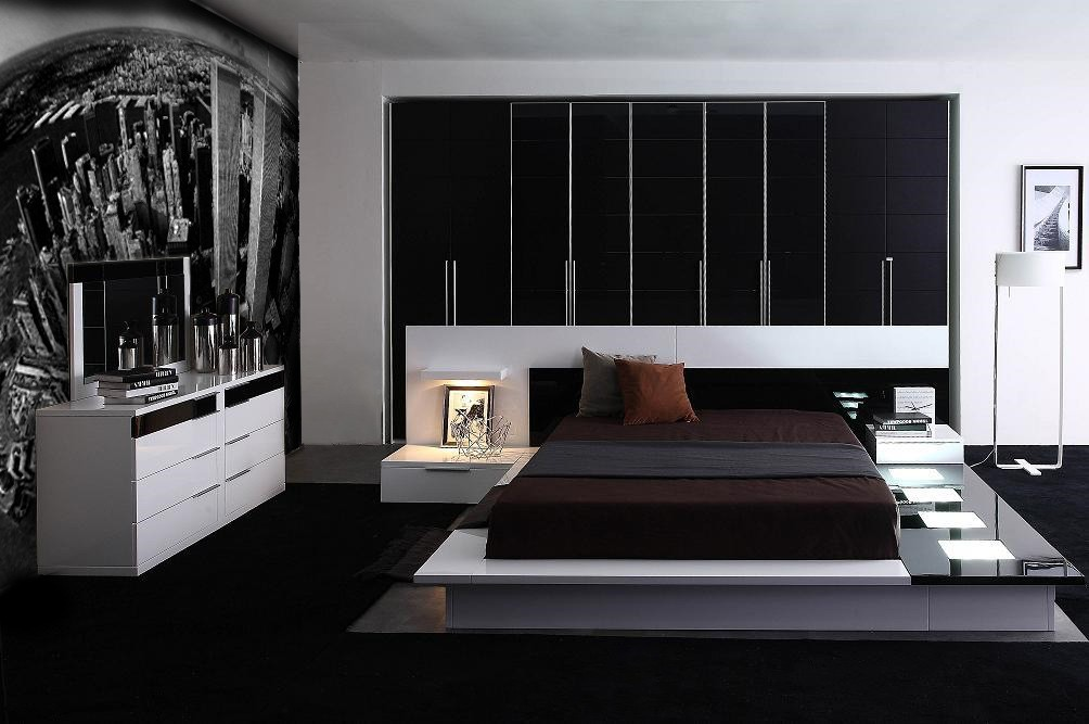 Fabulous Contemporary Platform Bedroom Sets Modern Contemporary Lacquer Platform Bed