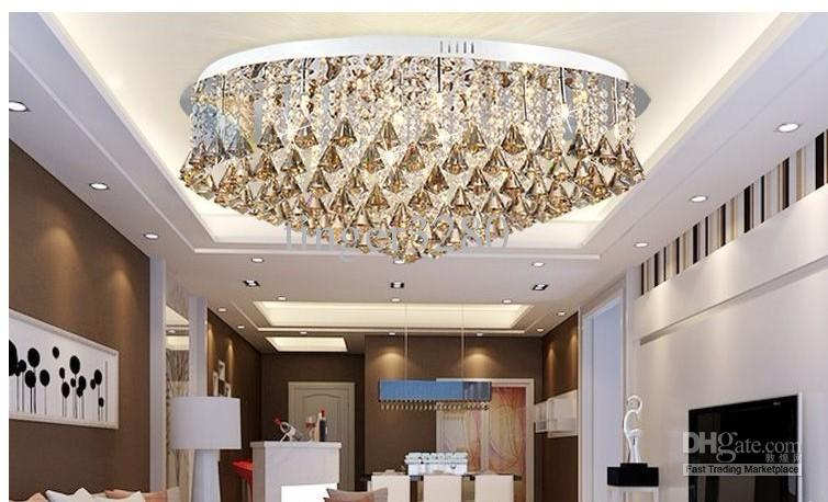 Fabulous Crystal Lights For Living Room Luxurious Living Room Lamp Modern Crystal Lamp Ceiling Lighting