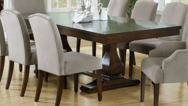 Fabulous Dark Wood Dining Room Table And Chairs Dinning Rooms Elegant Dining Set With Dark Wood Explandable