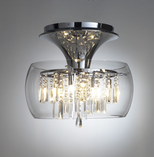 Fabulous Funky Ceiling Lights Contemporary Ceiling Lights Loco Clear 5 Light Modern Ceiling