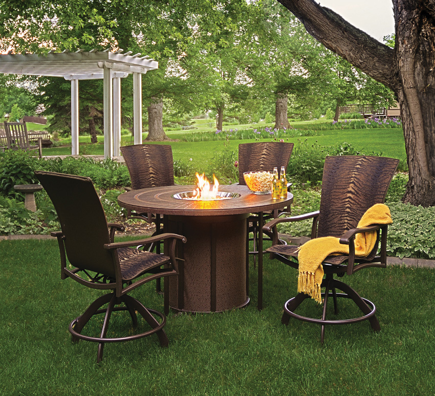 Fabulous High Top Wicker Patio Set Top 10 Best Fire Pit Patio Sets