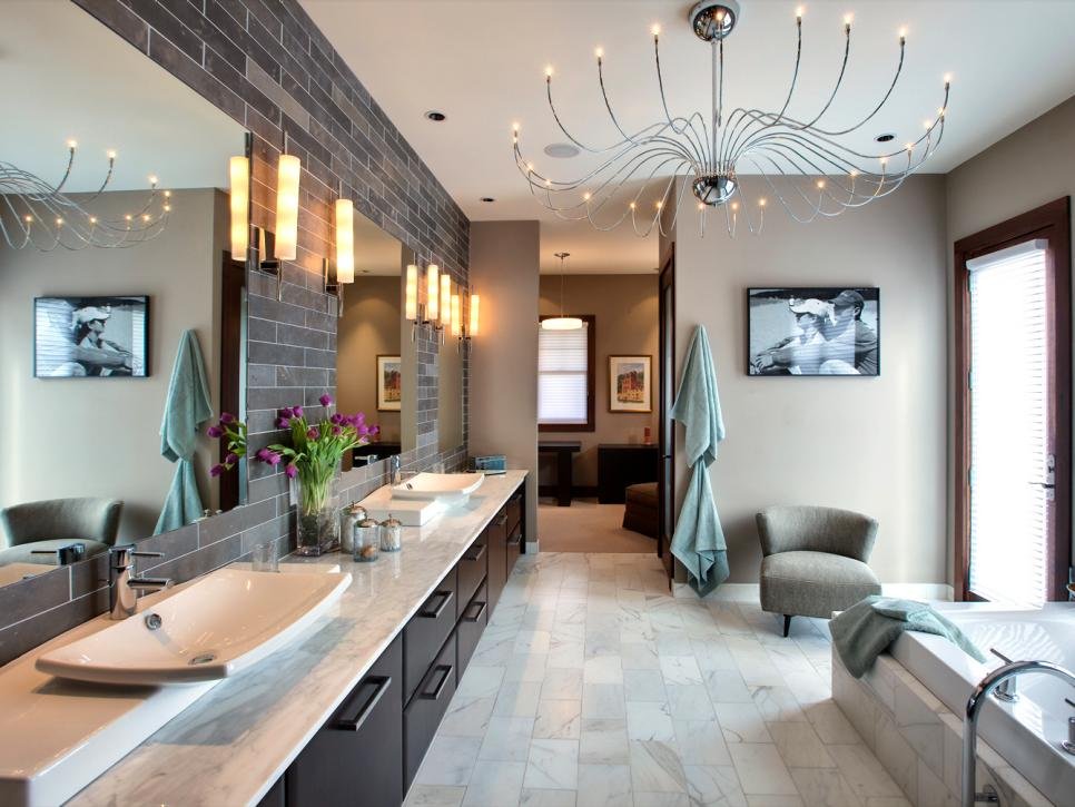 Fabulous Luxury Bathroom Lighting 13 Dreamy Bathroom Lighting Ideas Hgtv
