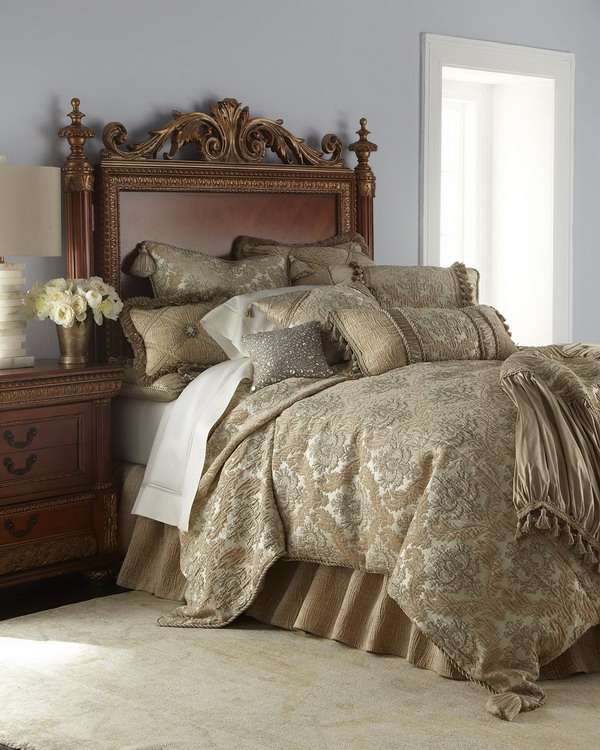 Fabulous Luxury Bed Comforters Bedroom Traditional Bedroom Decorated With Luxury Bedroom