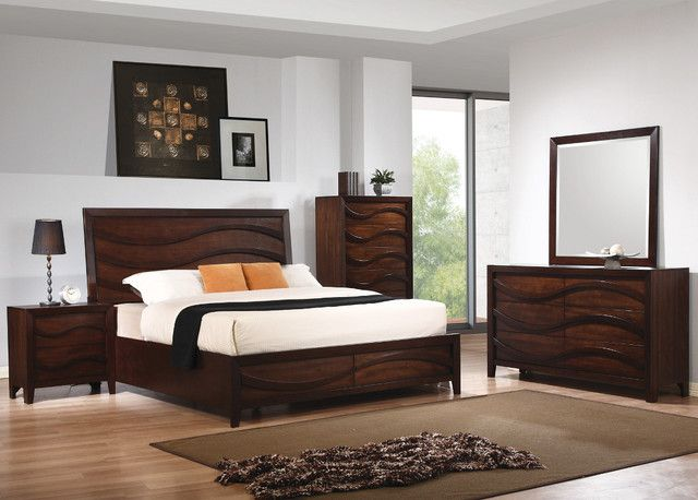 Amazing Modern Oak Bedroom Furniture Oak Contemporary Bedroom ...