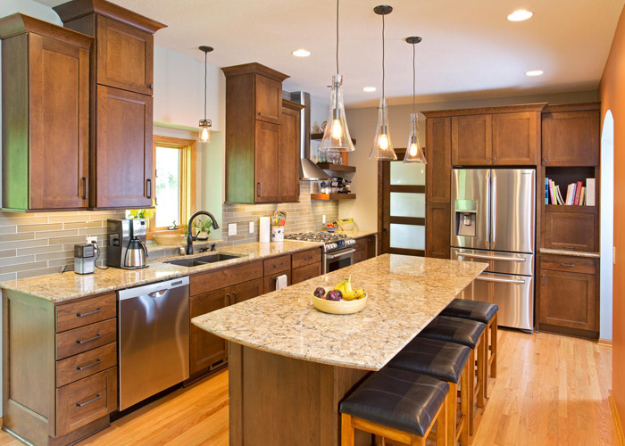 Fabulous New Kitchen Remodel New Spaces Mn How Much Will My Kitchen Remodel Cost
