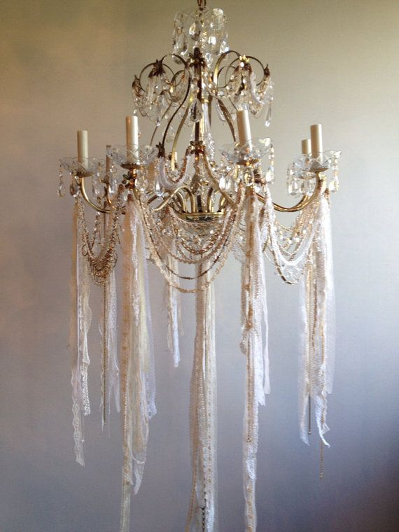 Fabulous Shabby Chic Chandelier Best 25 Shab Chic Chandelier Ideas On Pinterest Shab Chic