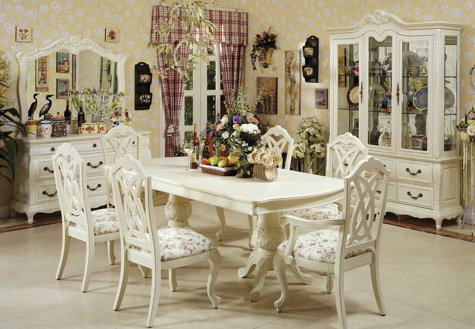Fabulous White Dining Room Sets Formal White Dining Room Sets Createfullcircle