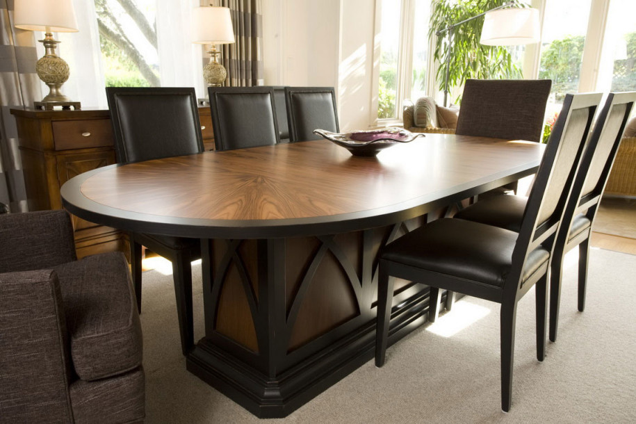 Fabulous Wooden Glass Dining Table Designs Glass Wood Dining Table Combination 568 Latest Decoration Ideas