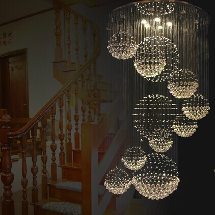 Gorgeous Ball Chandelier Light Online Shop 2015 New Modern 11 Ball Design Lustre Crystal