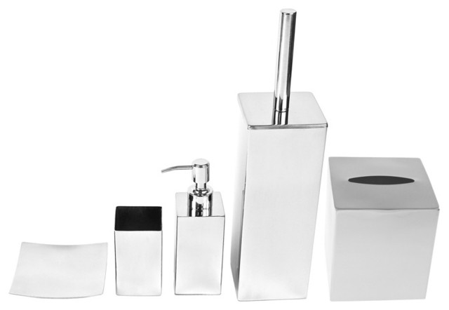 Gorgeous Contemporary Chrome Bathroom Accessories Chrome Bathroom Accessories Nrc Bathroom