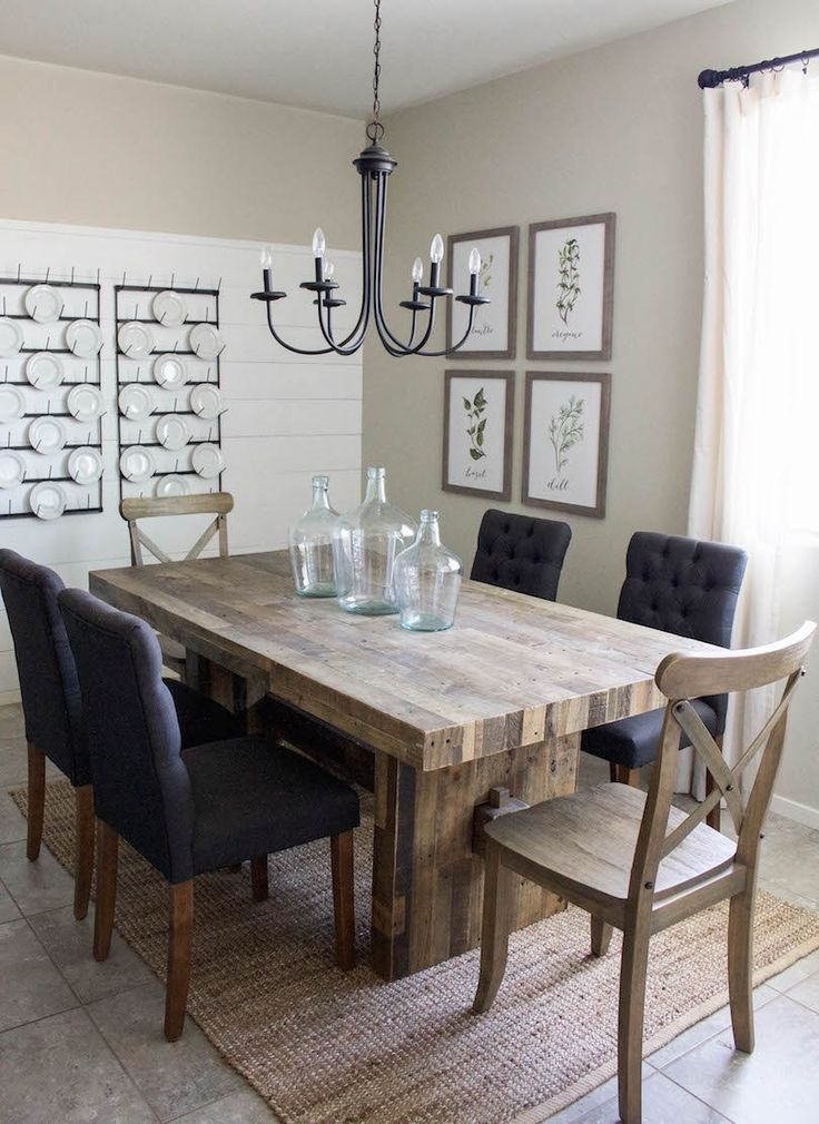 Gorgeous Contemporary Dining Room Furniture Best 25 Modern Farmhouse Table Ideas On Pinterest Modern