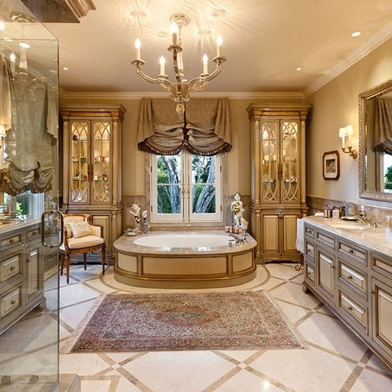Gorgeous High End Master Bathrooms 15 Ultimate Luxurious Romantic Bathroom Designs Luxury Master
