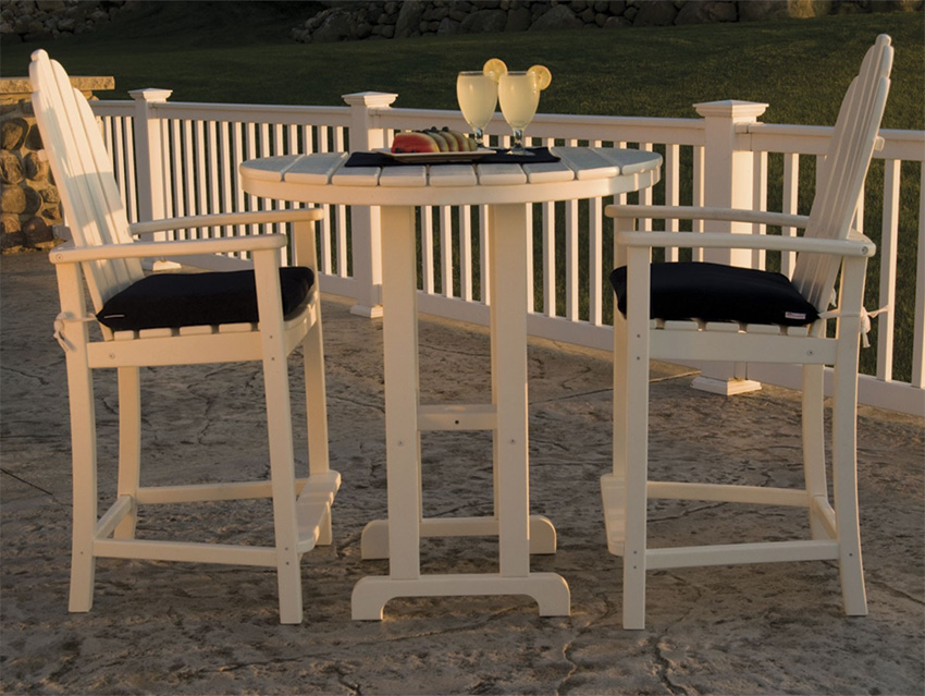 Gorgeous High Top Wicker Patio Set High Table Patio Furniture