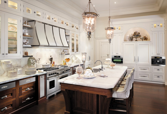 Gorgeous Houzz Luxury Kitchens Downsview Transitional Kitchen Traditional Kitchen New York