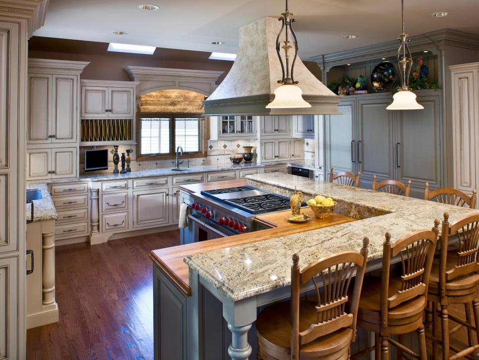 Gorgeous Kitchen Setup Design 5 Most Popular Kitchen Layouts Hgtv