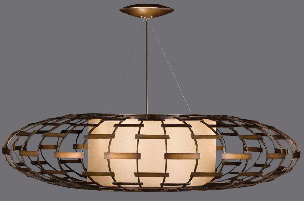 Gorgeous Large Ceiling Pendant Art Lamps 789240 Entourage Large Pendant
