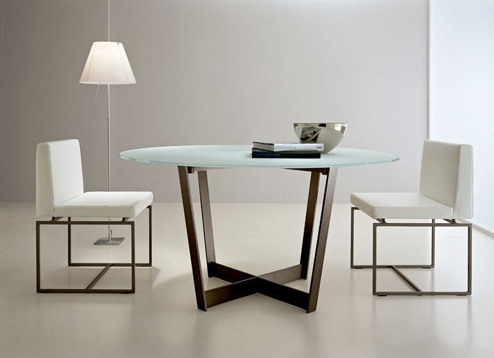 Gorgeous Large Contemporary Dining Table Dining Tables Outstanding Round Contemporary Dining Table Round