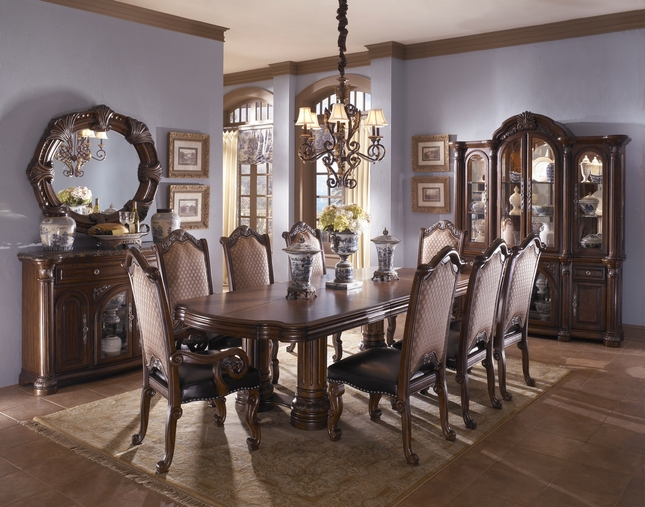Gorgeous Luxury Dining Room Sets Michael Amini Monte Carlo Dining Room Set Luxury Dining Set