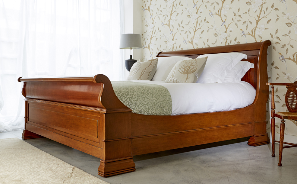 Gorgeous Luxury Wooden Beds Chatsworth French Wooden Bed Simon Horn