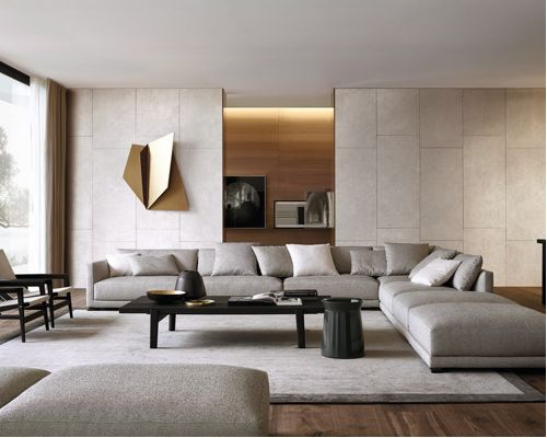 chic modern living room wall gallery of modern living room wall