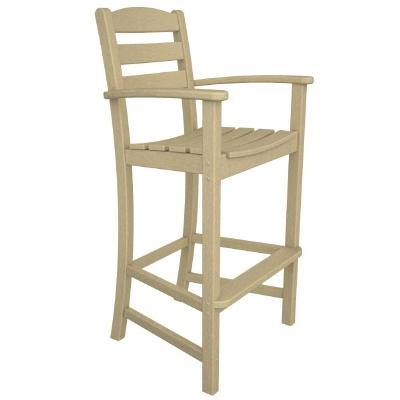 Gorgeous Outdoor High Chair Polywood La Casa Outdoor Bar High Arm Chair Pw Td202 Cozydays