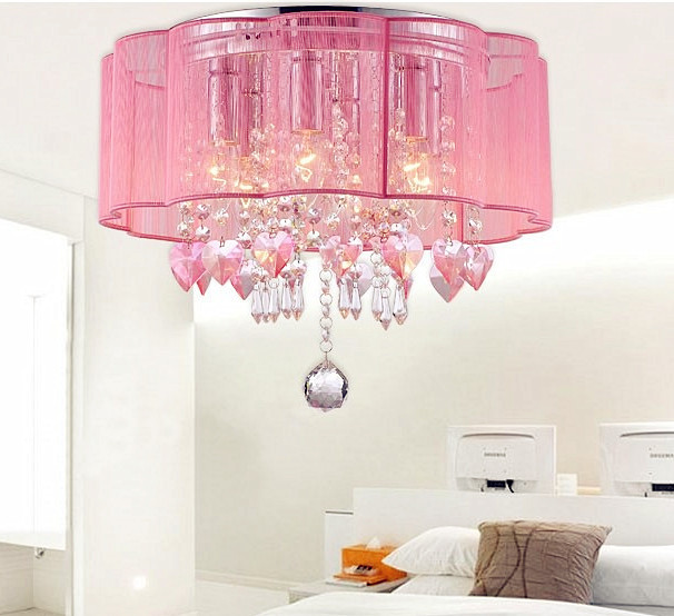 Gorgeous Pink Ceiling Light Old Mobile
