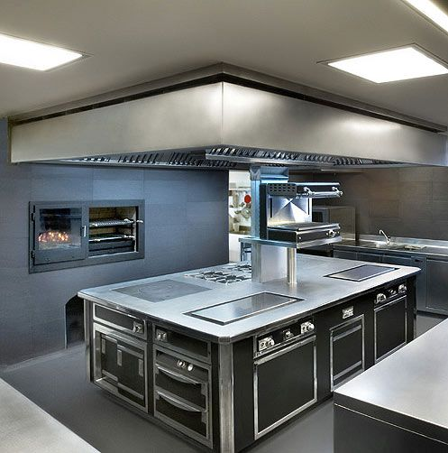 Gorgeous Restaurant Kitchen Design Wwwstainlesssteeltile Likes This Commercial Kitchen Design