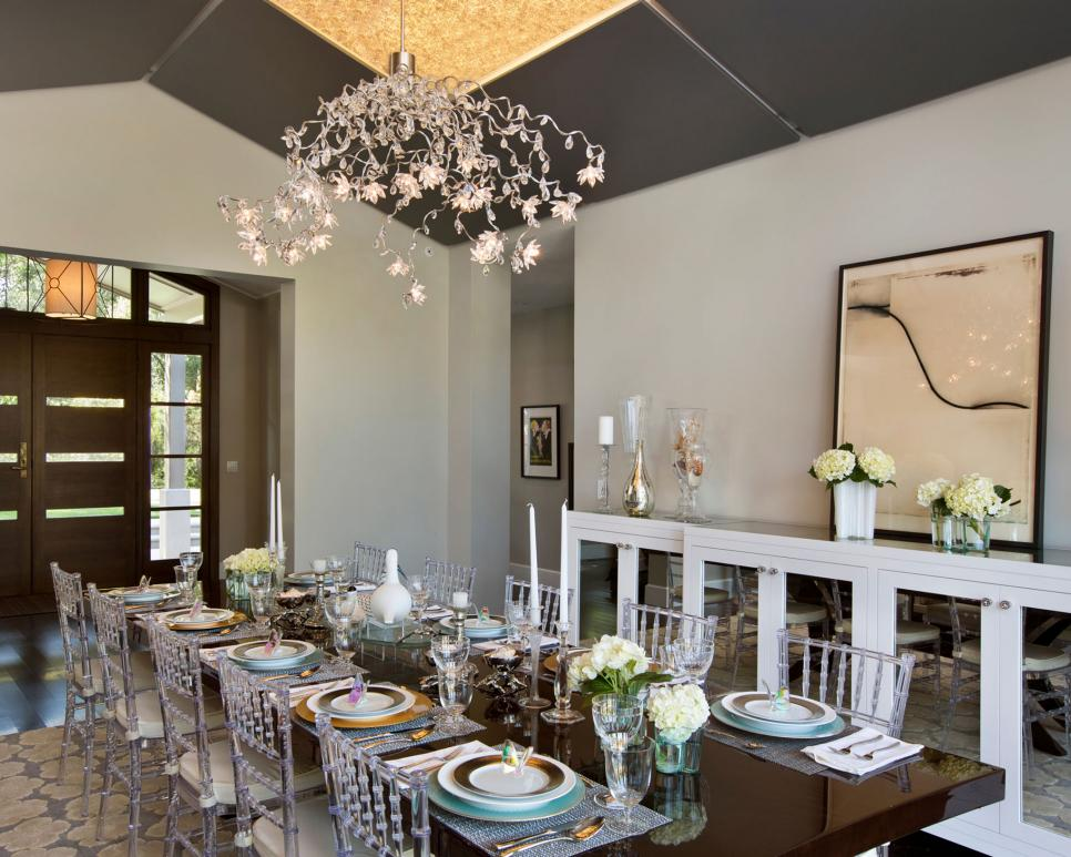 Gorgeous Small Dining Room Chandelier Select The Perfect Dining Room Chandelier Hgtv