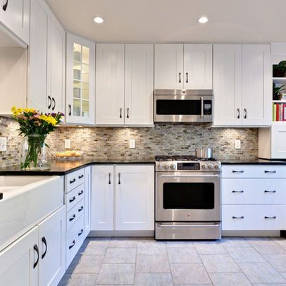 Gorgeous White Kitchen Cabinets White Cabinets Impressive On Others With Regard To Extraordinary