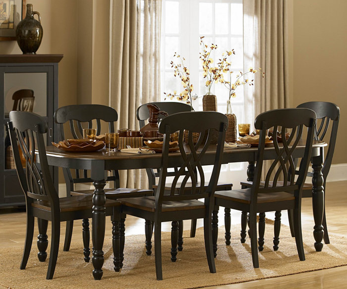 Great Black And Brown Dining Room Sets Black And Brown Dining Room Sets 17605